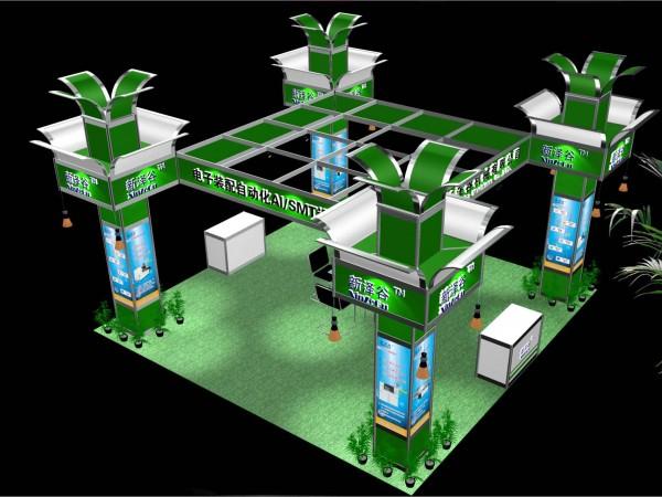 新泽谷-铝料结构-展览设计公司_深圳展览设计_展台